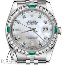Rolex Lady-Datejust Acero 26mm Madreperla Sin cifras