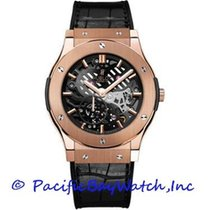 Hublot Classic Fusion Ultra-Thin Rose gold 45mm Black United States of America, California, Newport Beach