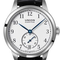Union Glashütte 1893 Small Second Otel 34mm Alb Arabic