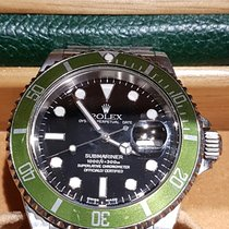 Rolex Submariner Date Fat Four Serie Y Kermit Unpolished 2003