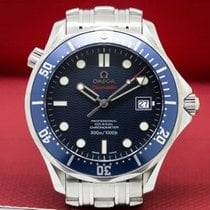 Omega 2222.80.00 Seamaster Pro Blue Wave Dial Co-Axial...