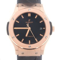 恒宝  Classic Fusion 18k Rose Gold Black Automatic 511.OX.1181.RX