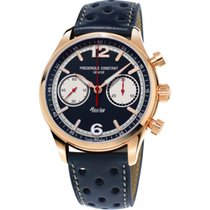 Frederique Constant FC-397HN5B4 Steel 2018 Vintage Rally 42mm new