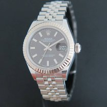 Rolex Datejust 28mm Grey Dial 279174
