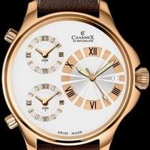 Charmex Acero 48mm Cuarzo Charmex Cosmopolitan II 2590 Qz mens watch nuevo