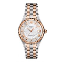 Tissot Lady 80 Automatic Staal 34mm Parelmoer Romeins
