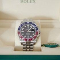 ロレックス 126710BLRO スチール GMT マスター II 40mm