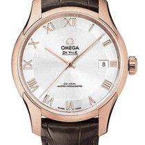 Omega 433.53.41.21.02.001 Oro rosa De Ville Hour Vision nuevo
