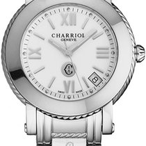 Charriol Acier Quartz P33SP33001 nouveau