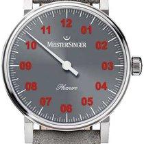 Meistersinger new Manual winding Steel Sapphire Glass