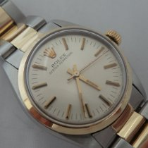 Rolex Oyster Perpetual 31 Gold/Steel 31mm White No numerals