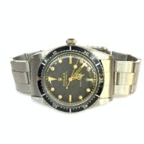 Rolex Oyster Perpetual Steel 36mm Black No numerals