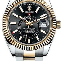 Rolex 326933-0002 Gold/Steel Sky-Dweller 42mm new