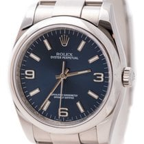 Rolex Oyster Perpetual 36 Steel 36mm Blue Arabic numerals