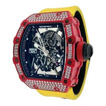 Richard Mille Carbon Automatic Transparent No numerals 49.94mm new RM 035