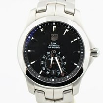TAG Heuer Link Calibre 6 Steel 39mm Black United States of America, Washington, Bellevue