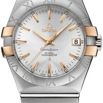 Omega Constellation Ladies Gold/Steel 35mm Silver United States of America, New York, Airmont