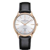 Hamilton Men's H38545751 Jazzmaster Thinline Gold Watch
