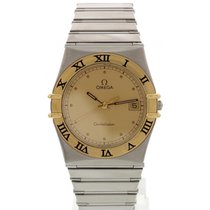 Omega Constellation Day-Date Steel 32mm Gold United States of America, New York, New York
