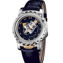 Ulysse Nardin 020-88 FREAK 28800 VH in White Gold - White Gold...