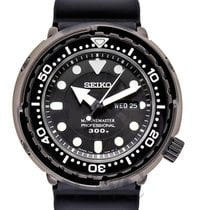 Seiko Marinemaster Steel 47.70mm Black