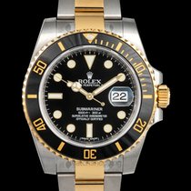Rolex Submariner Date Yellow gold 40mm Black United States of America, California, San Mateo