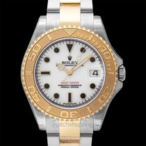 Rolex Yellow gold Automatic White new Yacht-Master