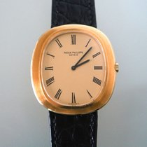 Patek Philippe Golden Ellipse Or jaune 33mm Champagne Romains France, Paris 08