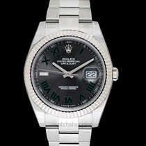 Rolex White gold 41mm Automatic 126334 new