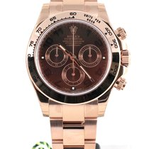 Rolex Daytona Chronograph pink gold chocolate dial 116505