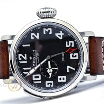 Zenith 48mm Automatic 2017 pre-owned Pilot Type 20 GMT Black