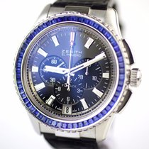 Zenith White gold Automatic new El Primero Stratos Flyback