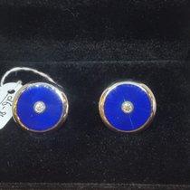 Fabergé Victor Mayer Blue Enamel Cufflinks