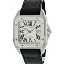 Cartier Santos 100 Steel 38mm White United States of America, New York, New York