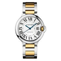 Cartier Ballon Bleu 36mm new 2018 Automatic Watch with original box and original papers W2BB0012