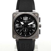 Bell & Ross Titanium Automatic Black 46mm new BR 01-94 Chronographe