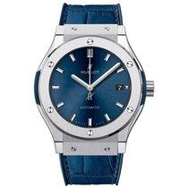 Hublot 511.NX.7170.LR Titanium Classic Fusion Blue new United States of America, Florida, North Miami Beach