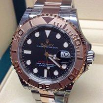 Rolex Yacht-Master 40 Gold/Steel 40mm Brown No numerals United Kingdom, Wilmslow