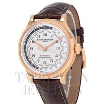 Baume & Mercier Capeland Rose gold 44mm Silver Arabic numerals United States of America, New York, Hartsdale