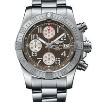 Breitling Avenger II Steel 43mm Grey Arabic numerals United States of America, New York, New York