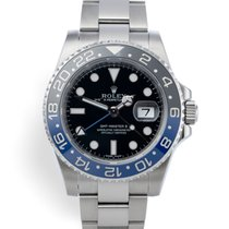 Rolex 116710BLNR Steel 2015 GMT-Master II 40mm pre-owned