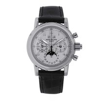 Patek Philippe Perpetual Calendar Chronograph White gold 37mm White Arabic numerals United States of America, New York, New York
