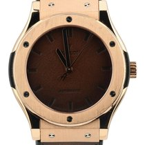 Hublot Classic Fusion 45, 42, 38, 33 mm pre-owned 45mm Brown Rose gold