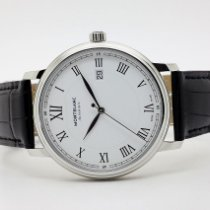 Montblanc 112609 Steel Tradition 40mm new