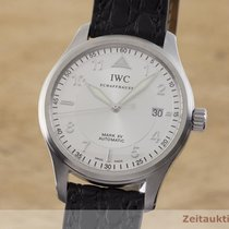 IWC Pilot Mark Stal 38mm Srebrny
