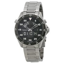 Hamilton Khaki Flight Timer Steel 40mm Arabic numerals