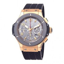 Hublot Rose gold Automatic Grey Arabic numerals 44mm pre-owned Big Bang