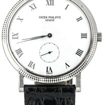 Patek Philippe Calatrava White gold 33mm White United States of America, Illinois, BUFFALO GROVE