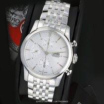 Oris Artelier Chronograph usados 44mm Plata Cronógrafo Fecha Año Acero