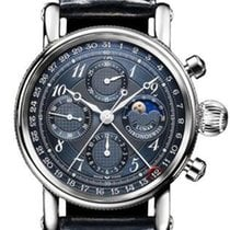 Chronoswiss Acier 42mm Remontage automatique Chronoswiss Chronograph Moon Phase nouveau